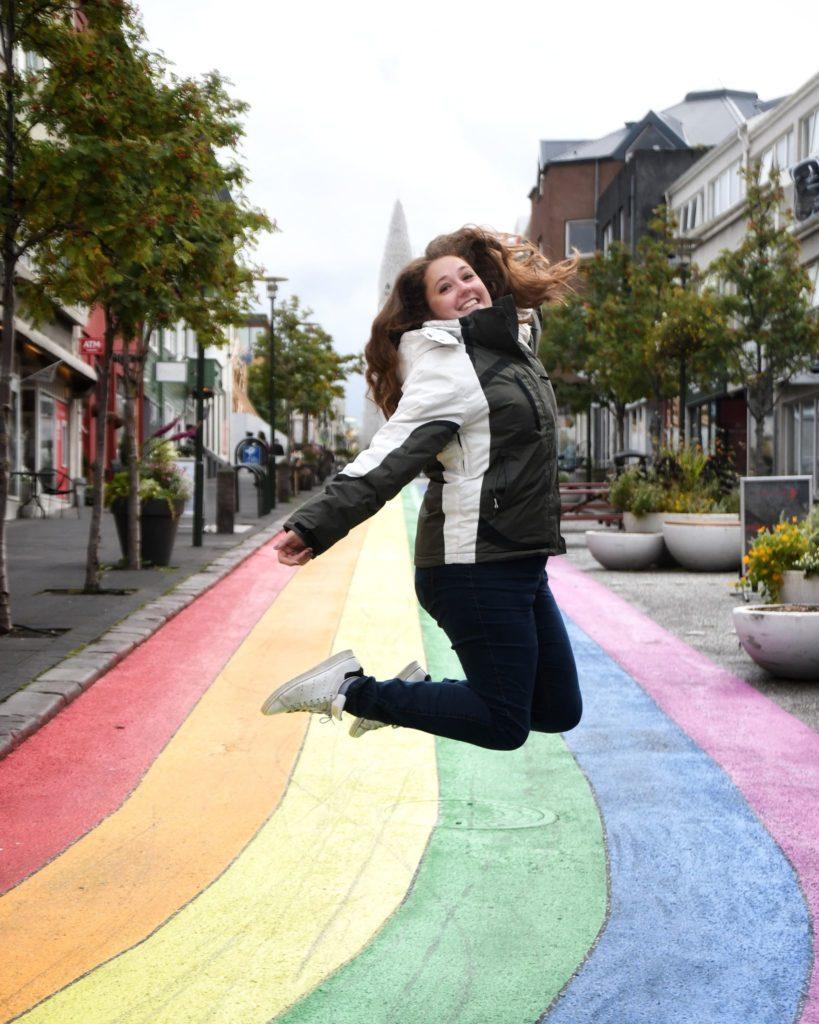 Centre ville coloré de Reykjavik