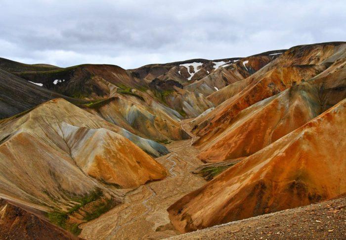 En randonnée dans le Landmannalaugar !